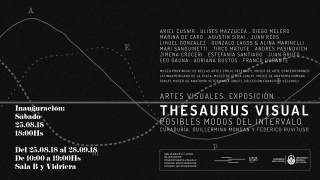 Thesaurus. Posibles modos del intervalo