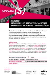 Sociología(s) del Arte en Chile: acuerdos, diferencias y propuestas contemporáneas. Imagen cortesía Museo de la Solidaridad Salvador Allende