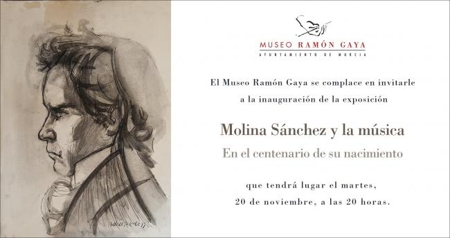 Molina Sánchez y la música