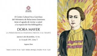 Dora Mayer, la perseverancia femenina frente a su tiempo. Imagen cortesía Centro Cultural Inca Garcilaso