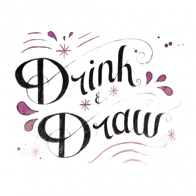 Drink and Draw at Two Birds Gallery and Studio