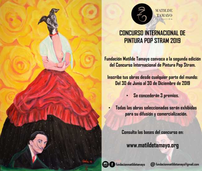 Concurso Internacional de Pintura Pop Stram 2019 - Fundación Matilde Tamayo