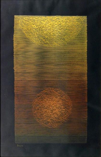 Eusebio Sempere Sin título, 1959 — Cortesía Art Madrid