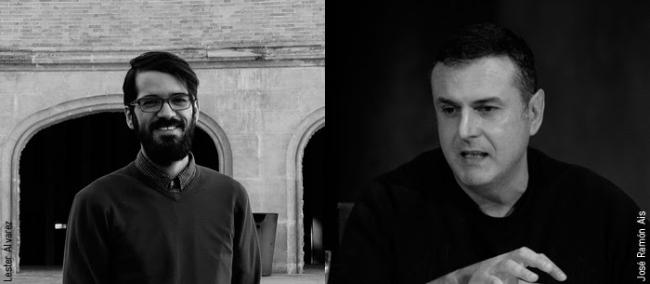 Lester Álvarez y José Ramón Ais — Cortesía de Azkuna Zentroa - Alhóndiga Bilbao