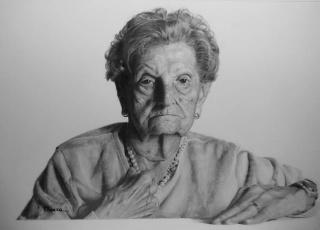 Retrato de Paquita