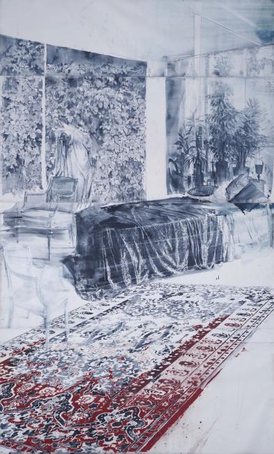 Julio Vaquero, Falta título, 2020. 400x244 cm. — Cortesía de la Galería Marlborough