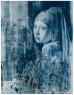 Julio Vaquero, Luces de Delft, 2019 - 2020. Creta y aguada sobre papel vegetal, 195 cm. x 151 cm. — Cortesía de la Galería Marlborough