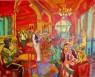 Café Royalty óleo sobre lienzo 114 x 146 cm.
