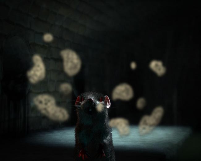 ?ükran Moral, Mirror, 2011 (fotograma del vídeo). Animación en 3D por ordenador © de la obra, ?ükran Moral, 2018 — Cortesía de Es Baluard