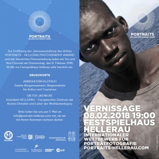 PORTRAITS-HELLERAU PHOTOGRAPHY AWARD 2018