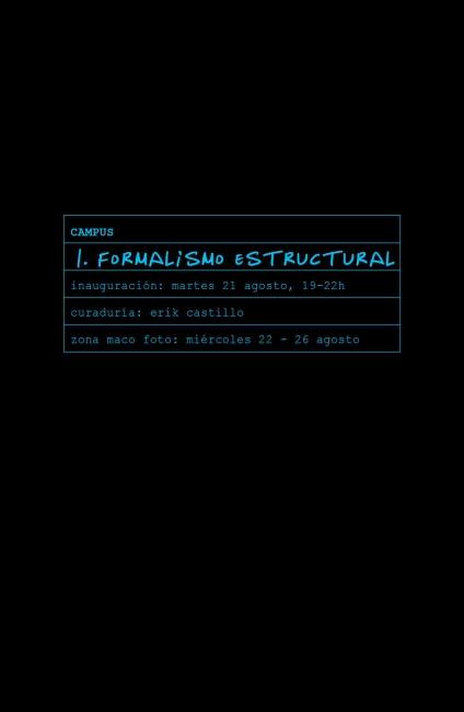 I Formalismo estructural. Imagen cortesía Galería le laboratoire