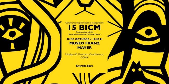 15 Bienal Internacional del Cartel en México / CON