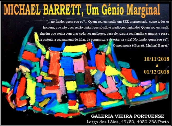 Michael Barret. Um génio marginal