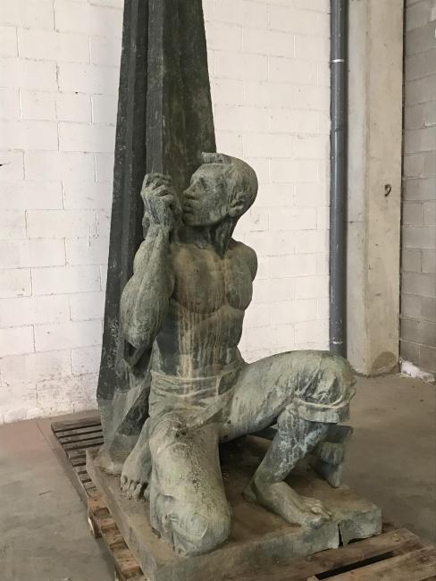 Monument als caiguts — Cortesía del Institut Ramon Llull
