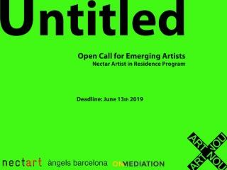 Open Call for Emerging Artists: Nectar Artist in Residence Program