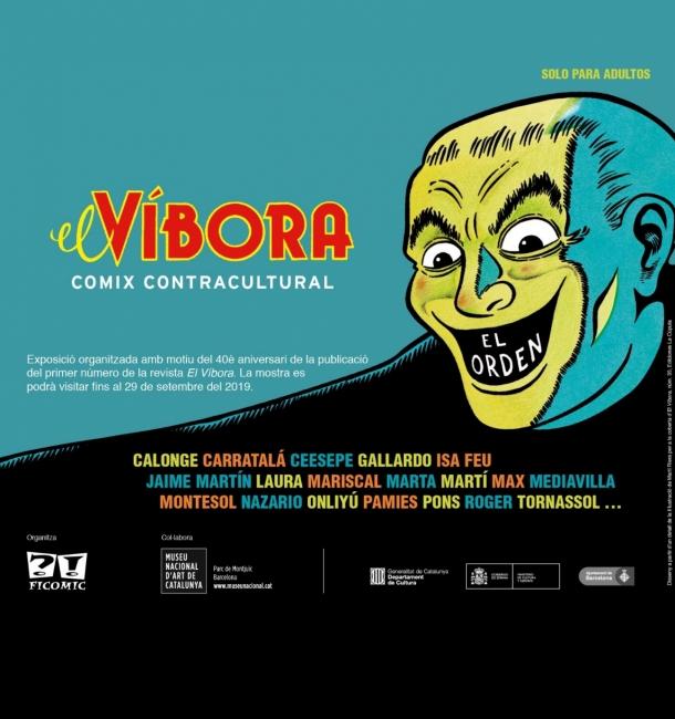El Víbora. Comix contracultural — Cortesía del Museu Nacional d'Art de Catalunya