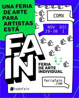 Convocatoria FAIN 2019 Feria de Arte Individual
