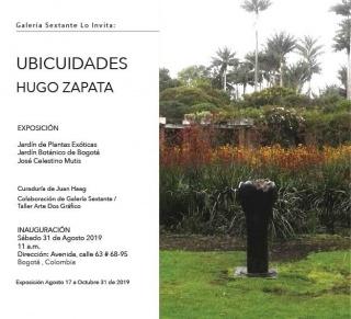 Hugo Zapata. Ubicuidades