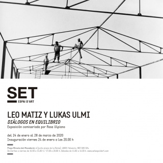 Leo Matiz y Lukas Ulmi. Diálogos en equilibrio
