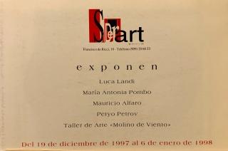 Diptico exposición SIDERART