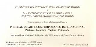 Bienal arte iberoamericano