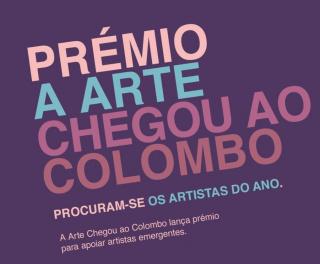Prémio A Arte Chegou ao Colombo 2020