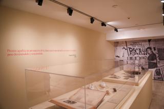 """Vista de la exposición """"Eugenio Chicano: a Pablo Picasso dedico"""" — Cortesía del Ayuntamiento de Málaga"""