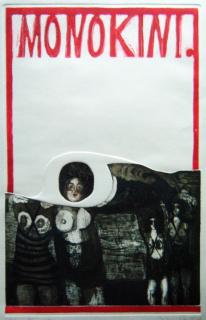 Lilina Porter, Monokini, 1964 — Cortesía del Museo Nacional del Grabado