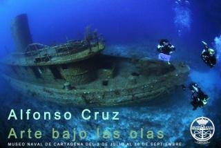 Alfonso Cruz, Arte bajo las olas