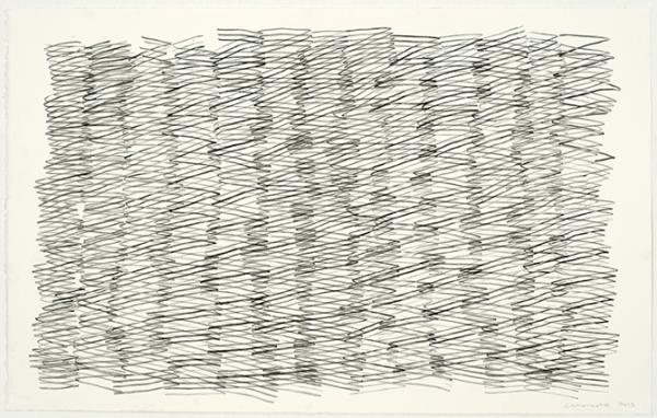 JOAQUIM CHANCHO. Dibuix 7. 2015. Dibuix sobre paper. 62 x 98 cm