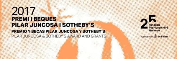 Premios y Becas Pilar Juncosa y Sotheby's 2017