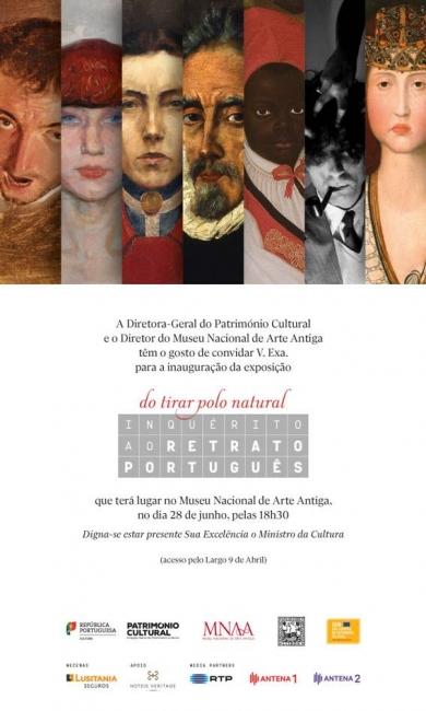 Do tirar polo natural. Inquérito ao retrato português