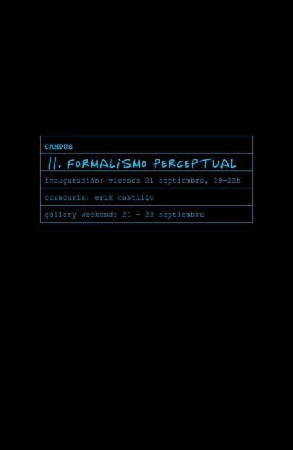 II Formalismo estructural. Imagen cortesía Galería le laboratoire