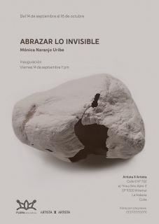 Abrazar Lo invisible. Imagen cortesía Artista X Artista