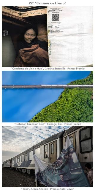 """29ª exposición fotográfica """"Caminos de Hierro"""" — Cortesía de la Fundación de los Ferrocarriles Españoles"""