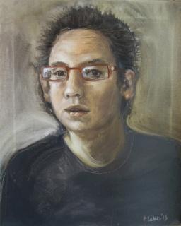 Autorretrato con negro de marte, 2015 - Obra de Mako Moya
