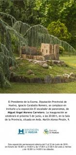 Invitación: Miguel Ángel Moreno Carretero. El escalador de panoramas
