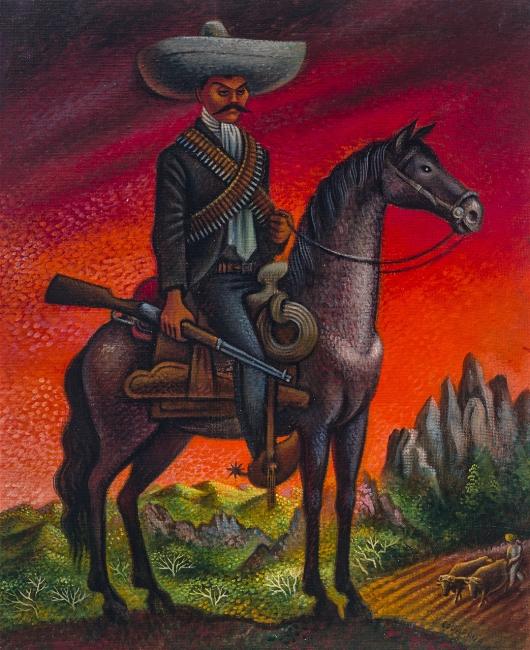 Miguel Covarrubias (1896-1974) |  Emiliano Zapata, s.f. | Colección particular