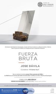 José Dávila. Fuerza bruta