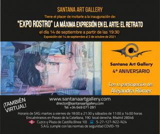 Expo-Retrato-Santana-art-Gallery