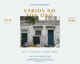 Gustavo Marrone, Varios no son uno