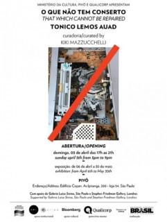 Tonico Lemos Auad, O que não tem conserto