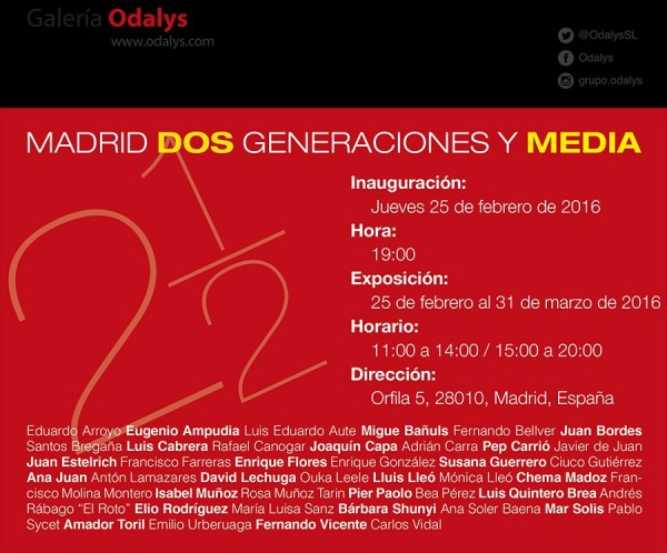 Madrid Dos generaciones y media