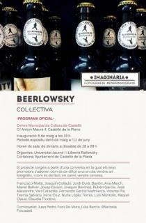 """Cartel de la exposición \""""Beerlowsky\""""."""