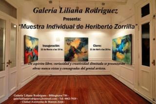 Muestra Individual de Heriberto Zorrilla