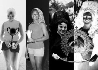 """Schools and university sports of Cameroon, regional finals at Buea, 1968. AFPB // Corona del orfebre Maese Clavo (1985-1972). s.f. Donación de su nieta Luisa Calvo Muro al proyecto """"Entre todos recuperamos la memoria gráfica de Burgos (AMBu)"""""""