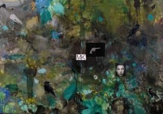 Eduardo Gruber, MK, 2017. Óleo sobre tela, 260x370 cm. – Cortesía de Juan Manuel Lumbreras Galería de Arte