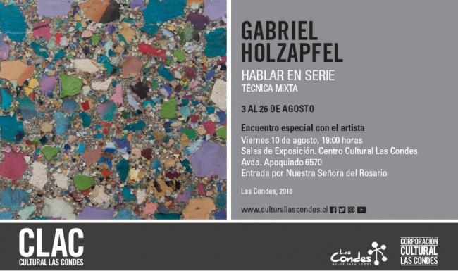 Gabriel Holzapfel. Hablar en serie