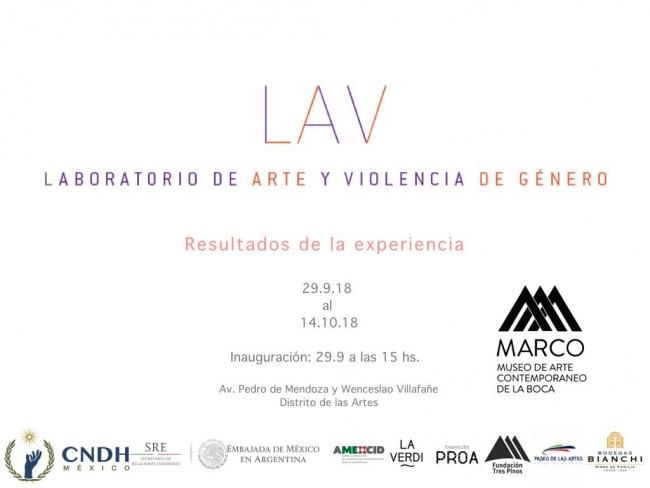 Resultados de la Experiencia de LAV-Laboratorio de Arte y violencia de género