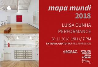 Luisa Cunha. Mapa mundi 2018